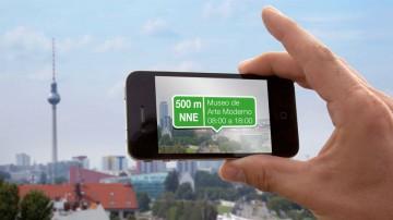 La realidad aumentada crea un entorno de datos extendido.