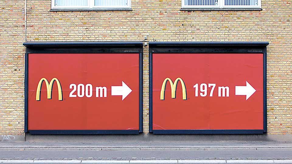 Los arcos del deseo de MacDonald's.