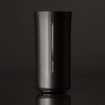 Un vaso inteligente para una vida sana, pero distinto a  esos torpes objetos inteligentes.