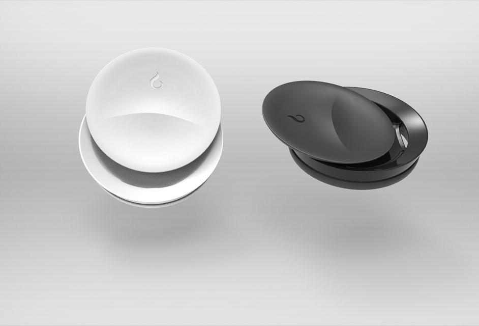 La tapa magnética de Vessyl es un detalle excepcional en un objeto preciado.