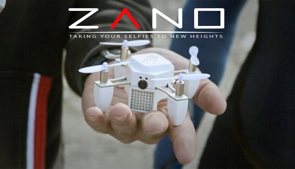 ZANO y una nueva forma de tomar selfies.