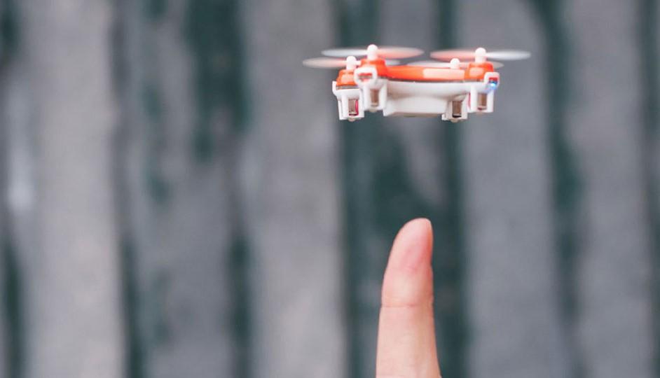 SKEYE: el más diminuto drone que existe.