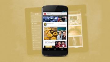 YouTube en su versión para dispositivos móviles.