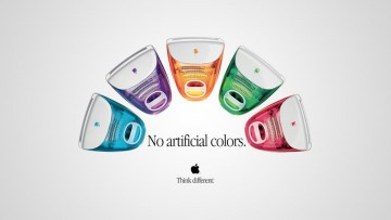 "La Apple iMac en 5 ""sabores"" distintos."