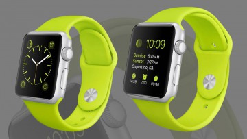 Apple Watch en su versión Sport.