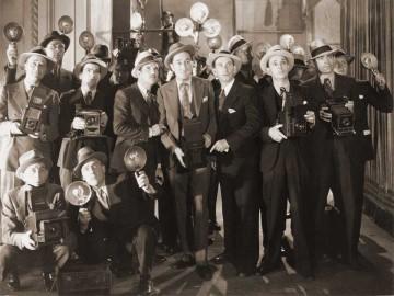 Medios tradicionales y nuevos medios: reporteros gráficos.