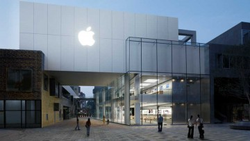 Apple Store en Beijing, China.