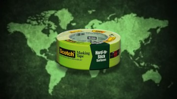 Cinta Scotch Greener Masking Tape.