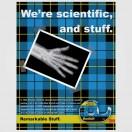 Científicos soviéticos descubrieron que la cinta Scotch despegada en el vacío produce rayos X