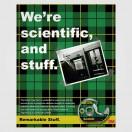 Pruebas conjuntas sobre cinta Scotch en la Escuela de Ingeniería Thayer del Dartmouth College.