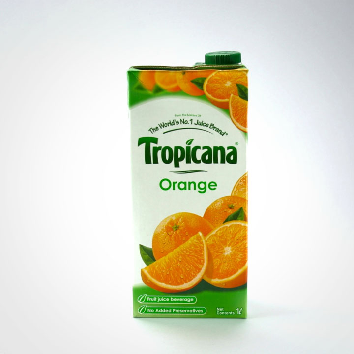 El jugo de naranja Tropicana y el calentamiento global.