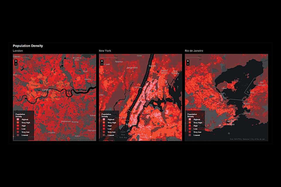 Estudios urbanísticos de Richard Saul Wurman. Veronese Producciones · Publicidad Integral.