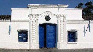 La Casa de Tucumán, lugar donde se declaró la Independencia nacional.