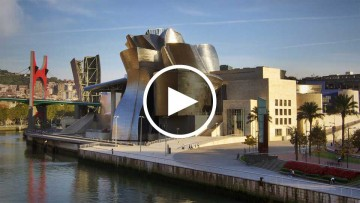 Portada del video de la charla TED de Frank Gehry con Richard Saul Wurman.