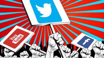 La publicidad política, los medios tradicionales y los nuevos medios.