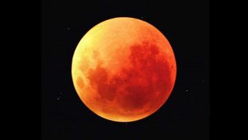 Súper Luna de Sangre de septiembre de 2015.