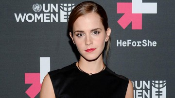 Emma Watson, Embajadora de Buena Voluntad de ONU Mujeres.