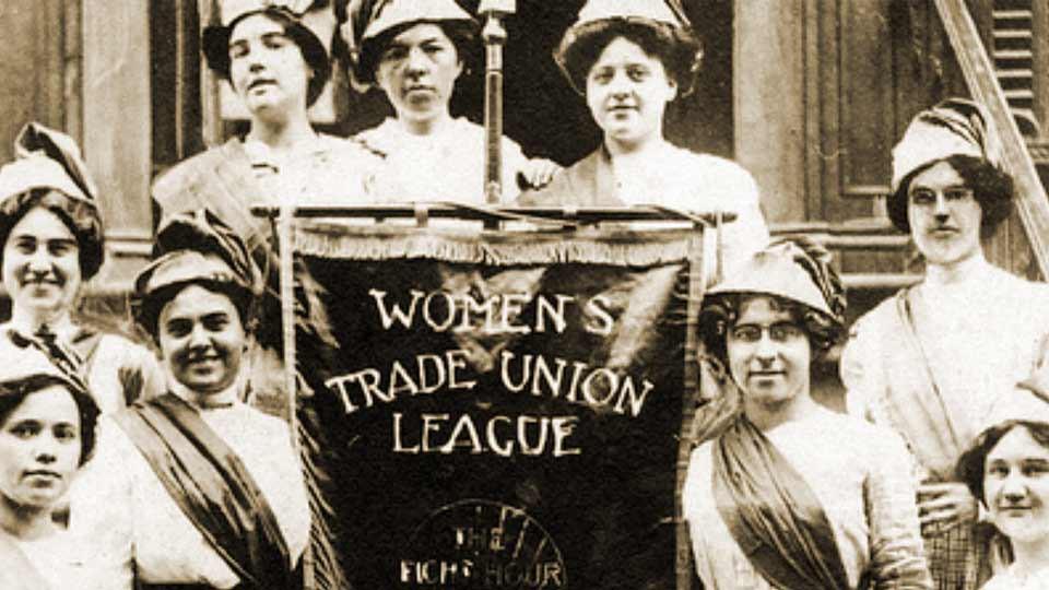 Día Internacional de la Mujer 2020: las pioneras de la Women's Trade Union League.