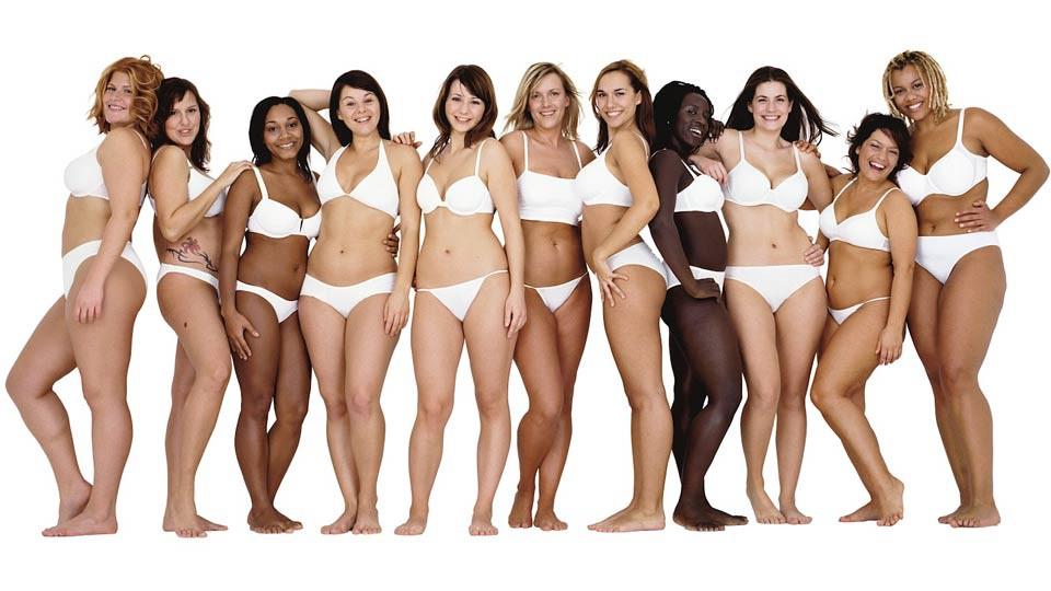 """Imagen de mujer según la campaña """"Real beauty"""" de Dove."""
