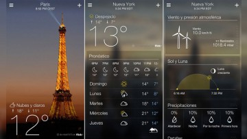 Tiempo, clima y RSE bajo la lupa: app meteorológica para celulares.