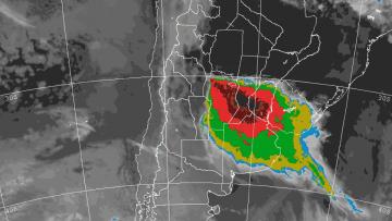 Tiempo, clima y RSE bajo la lupa: imágenes de radar meteorológico.