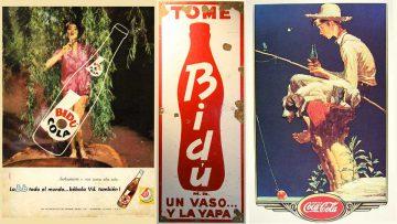 Bidú Cola: la competencia argentina de Coca-Cola. Gráfica.