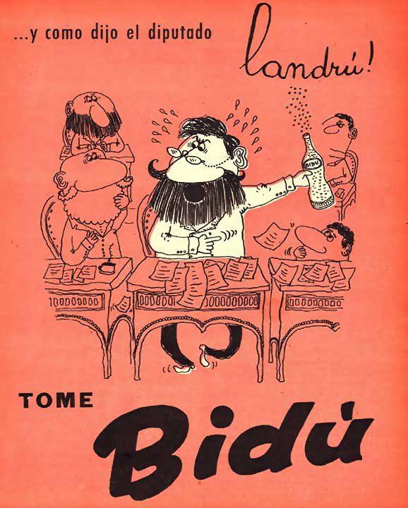 …y como dijo el diputado Landrú (10/06/1958)