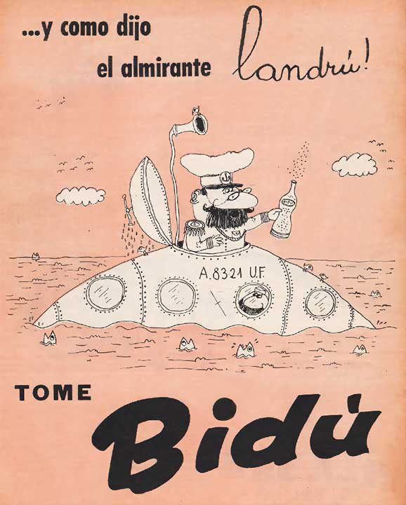 …y como dijo el almirante Landrú (12/08/1958)