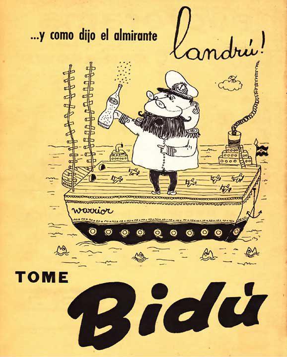 …y como dijo el almirante Landrú (19/08/1958)