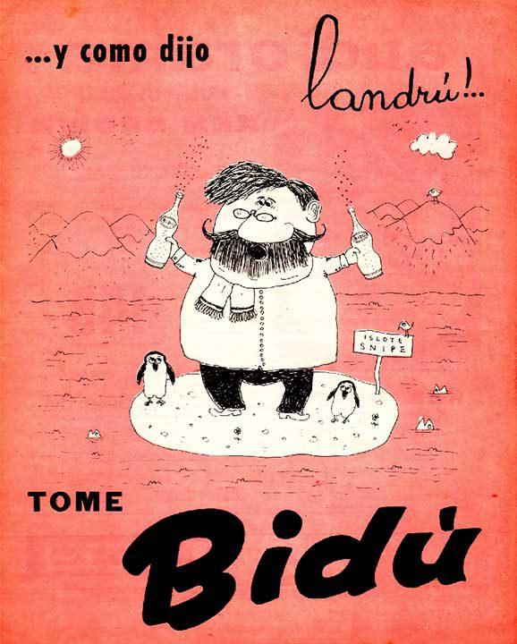 …y como dijo Landrú [incidente entre Argentina y Chile en el Islote Snipe] (26/08/1958)