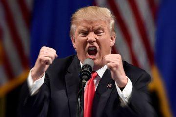 Donald Trump campeón de la imprecación salvaje.