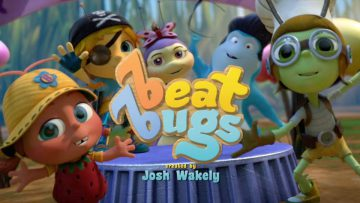 """Beat Bugs"", los Beatles de jardín en la TV."