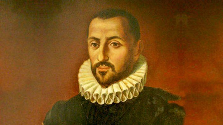 El hidalgo, explorador, conquistador y gobernante don Juan de Garay (1528~1583).