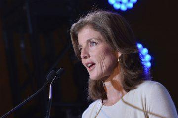 Caroline Kennedy en un acto de campaña 2013.