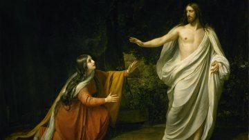 Pascua de Resurrección: La Aparición de Cristo ante María Magdalena.