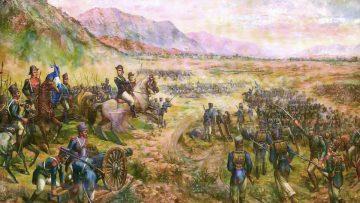 La Batalla de Salta, óleo.