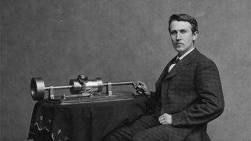 Música para tus oídos: Edison y su fonógrafo.