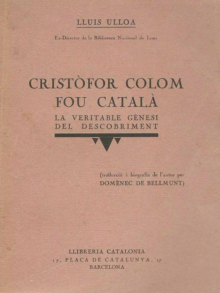 Cristóbal Colón catalán