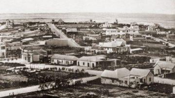 Chivito uruguayo: balneario de de Punta del Este.