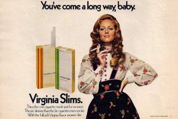 Mujeres: la otra grieta. Virginia Slims.