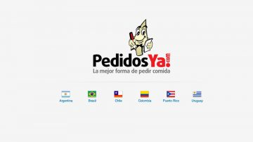 PedidosYa y el chivito uruguayo: la marca original antes del rediseño.