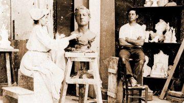 Fascinante Lola Mora: manos a la obra.