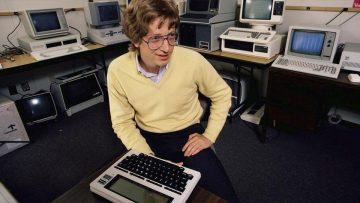 Bill Gates a los 20 años.
