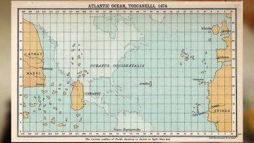 Cuba era Japón: el mapa de Toscanelli reconstruido.