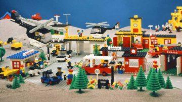 La gama de juguetes temáticos Legoland, lanzada en 1970.