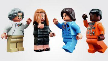 Lego y 4 famosas mujeres de la NASA: inclusividad ante todo.