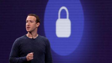 Mark Zuckerberg, fundador y CEO de Facebook, no se hace cargo.