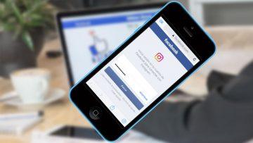 La trampa de iniciar sesión con Facebook ya viene incluida en Instagram.