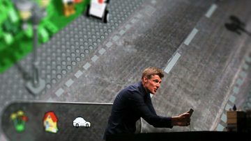 Martin Sanders, director de innovación de Lego: rearmarse o desaparecer.