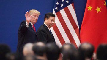 Privacidad, peligro chino: Trump y Jinping.